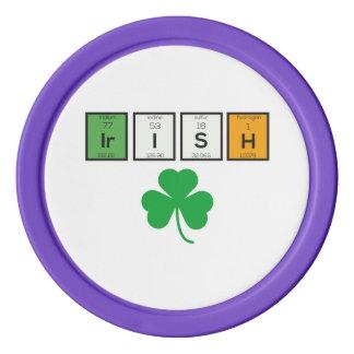 Fichas De Póquer Elementos químicos irlandeses Zc71n