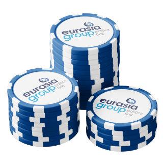 Fichas De Póquer Logotipo moderno