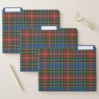 Fichero Tartán escocés original antiguo de Macbeth