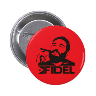 Fidel Castro Chapa Redonda 5 Cm