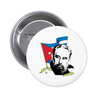 Fidel Castro Chapa Redonda De 5 Cm