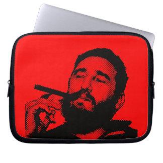 Fidel Castro joven con un cigarro Funda Ordendadores