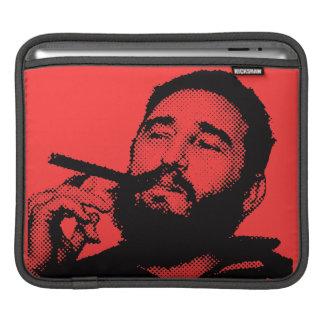 Fidel Castro joven con una manga de la tableta del Manga De iPad