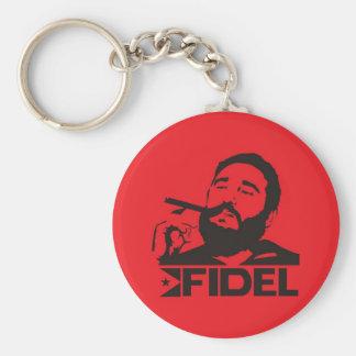 Fidel Castro Llavero Redondo Tipo Chapa