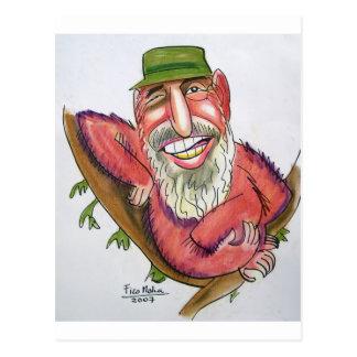 Fidel Castro Postal