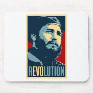 Fidel Castro - presidente cubano de la revolución Alfombrilla De Ratón