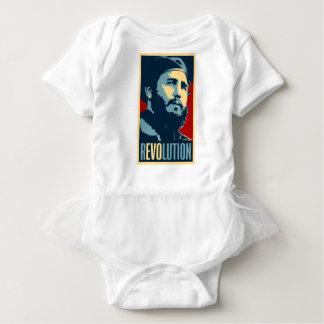 Fidel Castro - presidente cubano de la revolución Body Para Bebé