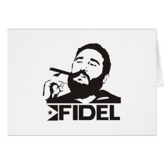 Fidel Castro Tarjeta De Felicitación