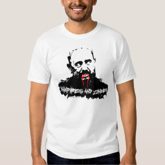 Fidel Castro Vampires and Zombies T-Shirt