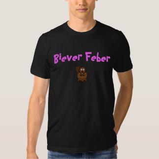 Fiebre de Bieber (castor) Camisetas