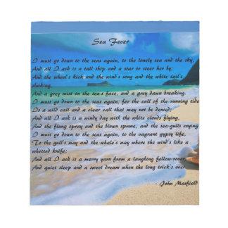 Fiebre del mar cerca: Juan Masefield Bloc De Notas