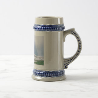 Fiel viejo jarra de cerveza