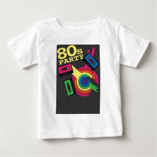 fiesta 80s camiseta para bebé