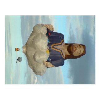 Fiesta Albuquerque Jesús del globo el señor Postal