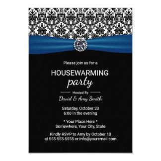 Fiesta Blue Ribbon clásico del estreno de una casa Invitación 12,7 X 17,8 Cm