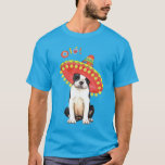 Fiesta Boston Terrier Camiseta