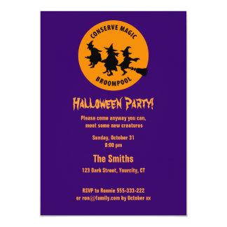 Fiesta chistoso de Halloween Comunicados