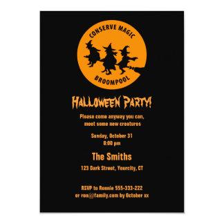 Fiesta chistoso de Halloween Invitación 12,7 X 17,8 Cm