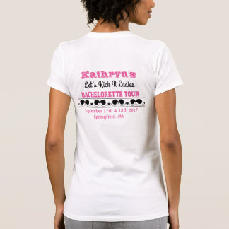 Fiesta de Bachelorette de la camiseta del