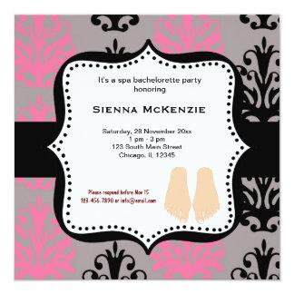 Fiesta de Bachelorette del balneario Invitación Personalizada