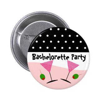 Fiesta de Bachelorette del lunar Pins