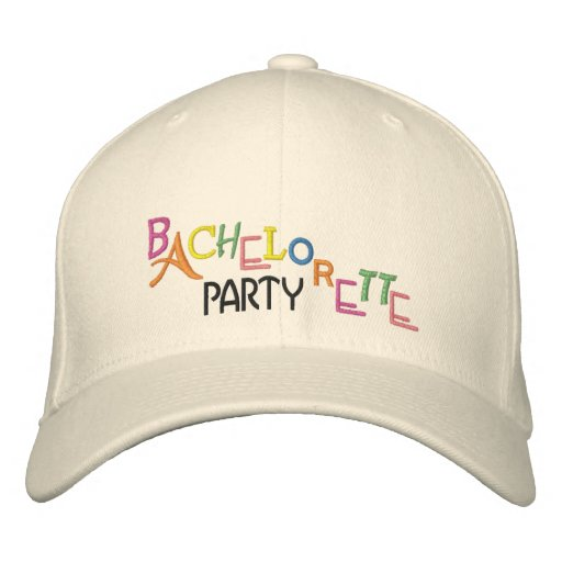 Fiesta de Bachelorette - Gorras Bordadas
