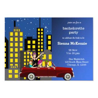 Fiesta de Bachelorette Invitacion Personalizada