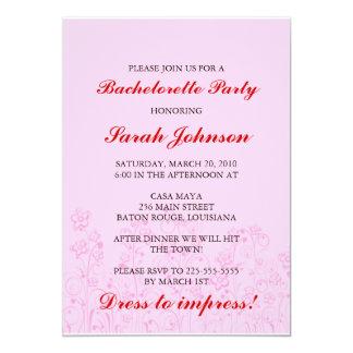 Fiesta de Bachelorette Comunicados Personalizados