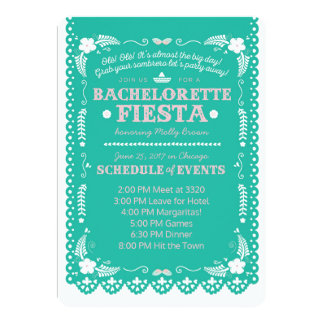 Fiesta de Bachelorette Invitación 12,7 X 17,8 Cm