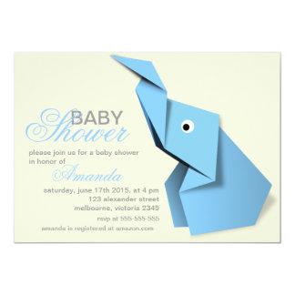 Fiesta de bienvenida al bebé de encargo del invitación 12,7 x 17,8 cm