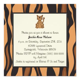 Fiesta de bienvenida al bebé de la impresión del invitación 13,3 cm x 13,3cm