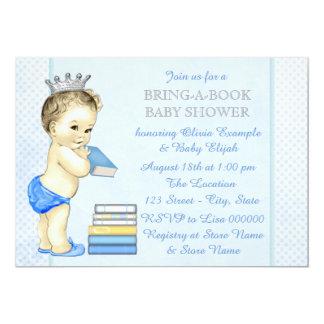 Fiesta de bienvenida al bebé del libro de los invitación 12,7 x 17,8 cm