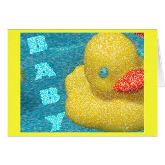 Fiesta de bienvenida al bebé Ducky Tarjetas