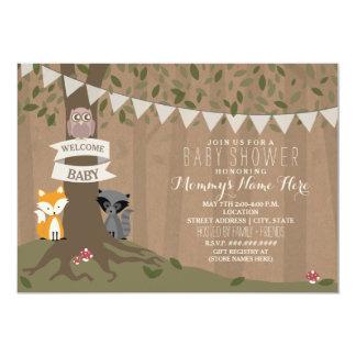 Fiesta de bienvenida al bebé inspirada de papel de invitación 12,7 x 17,8 cm
