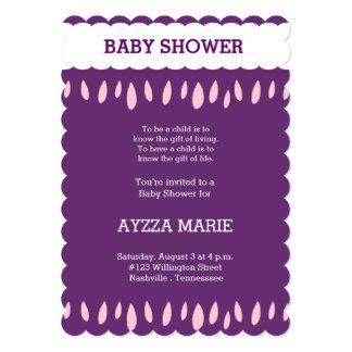 fiesta de bienvenida al bebé invitación 12,7 x 17,8 cm