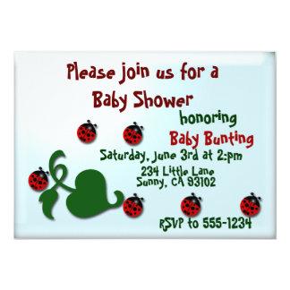 Fiesta de bienvenida al bebé comunicados personalizados