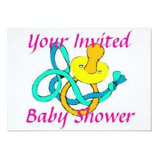 Fiesta de bienvenida al bebé, invitación