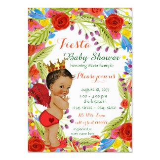 Fiesta de bienvenida al bebé mexicana de la fiesta invitación 11,4 x 15,8 cm