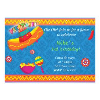 Fiesta de bienvenida al bebé mexicana del cumpleañ