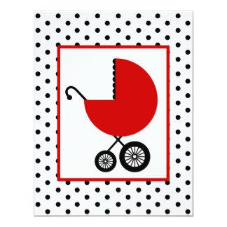 Fiesta de bienvenida al bebé neutral - carro y