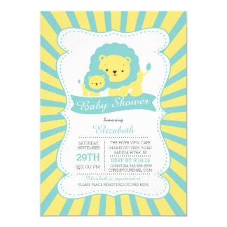 Fiesta de bienvenida al bebé neutral linda de los invitación 12,7 x 17,8 cm