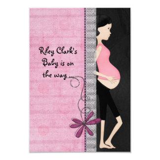 Fiesta de bienvenida al bebé para la mamá invitación 8,9 x 12,7 cm