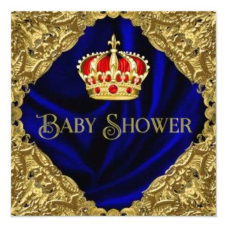 Fiesta de bienvenida al bebé real invitación 13,3 cm x 13,3cm
