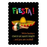 Fiesta de Cinco de Mayo Invitación 12,7 X 17,8 Cm
