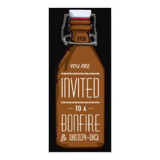 Fiesta de compromiso de la barbacoa del BQ Invitación 10,1 X 23,5 Cm