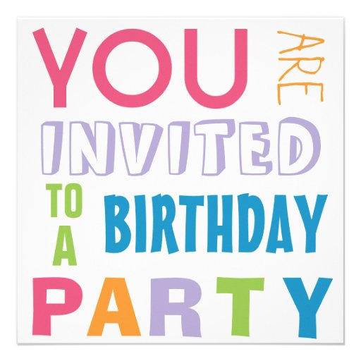 Fiesta de cumpleaños adolescente del tween de los  anuncio