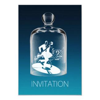 Fiesta de cumpleaños de Charleston Vip Ombre Invitación 8,9 X 12,7 Cm