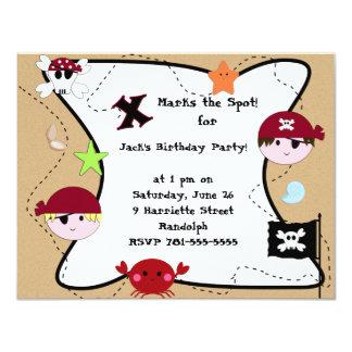 Fiesta de cumpleaños de encargo del pirata del KRW Comunicado