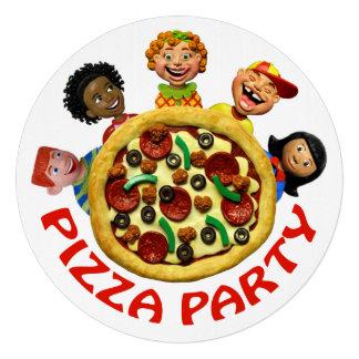 Fiesta de cumpleaños de la pizza