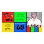 Fiesta de cumpleaños de la sorpresa de la foto de  tarjeta personal con foto